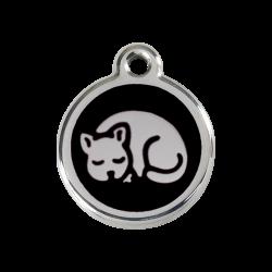 accessoire chat design : médaille à graver